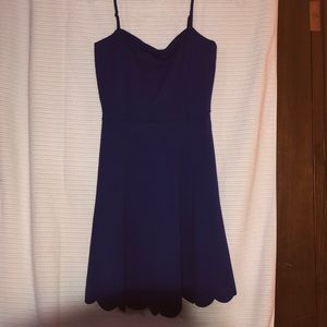 Soprano - Royal Blue Summer Dress - M